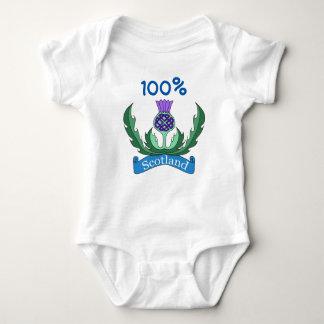 `Flower of Scotland' Baby Jersey Bodysuit