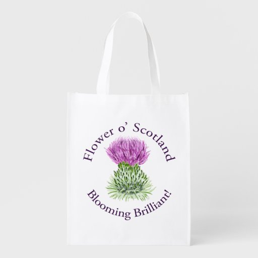 Flower of Scotland – Blooming Brilliant! Market Tote