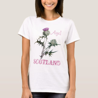 Flower of Scotland Scottish Independence T-Shirt