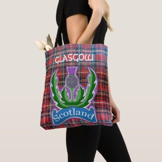 `Flower of Scotland' Tote Bag