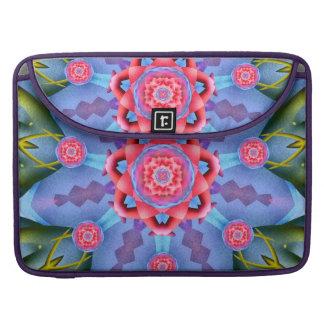 Flower of Sevens Mandala Sleeve For MacBooks