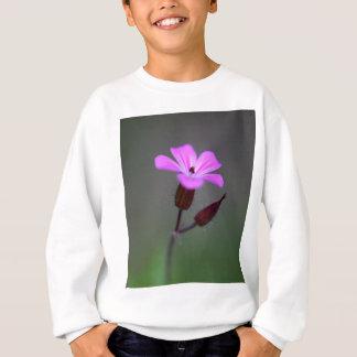 Flower of the Herb-Robert, Geranium robertianum. Sweatshirt