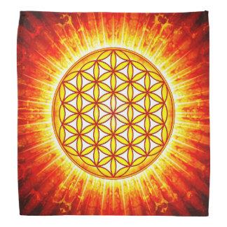 Flower of the life - sun III Bandana
