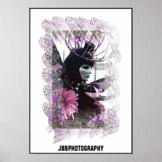 flower of Venice Poster