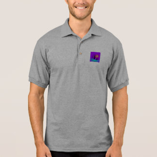 Flower on the Water Polo Shirt