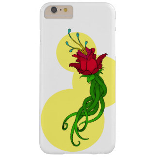 Flower on Yellow Barely There iPhone 6 Plus Case