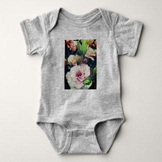 Flower Onsie Baby Bodysuit