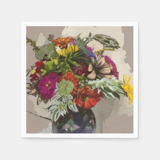 Flower Original Art Paper Napkin
