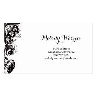 Flower Ornament Business Card