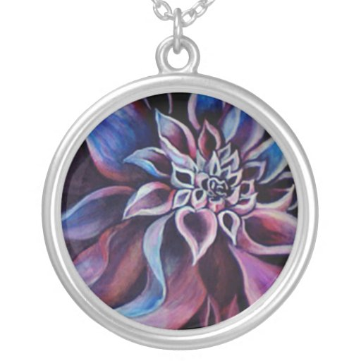 Flower painted jewelry