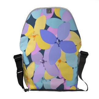Flower Pattern 1 Commuter Bag