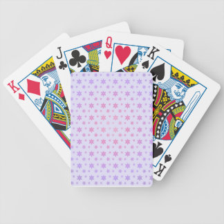 Flower Pattern Bicycle Playing Cards