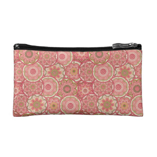 Flower Pattern Four Cosmetics Bags