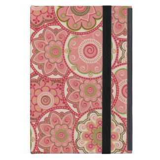 Flower Pattern Four Cover For iPad Mini