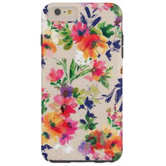 Flower pattern pink case