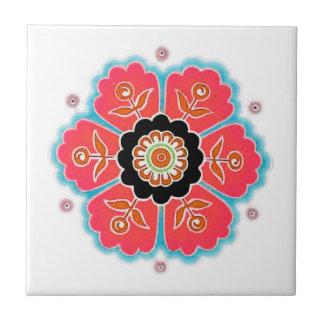 Flower Pattern Tile