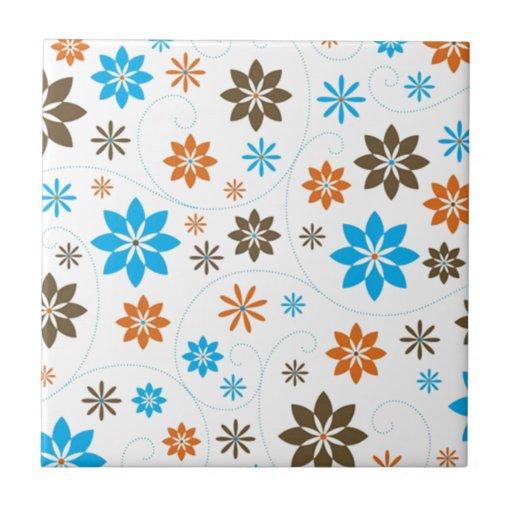 Flower Pattern Tiles