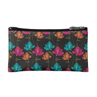 Flower Pattern Two Makeup Bag