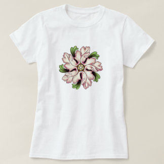 Flower Pentagram T-Shirt