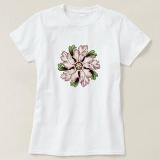 Flower Pentagram Tees
