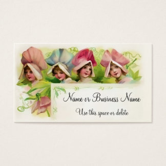 Flower Petal Girls 1 Business Card