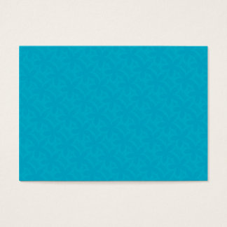 Flower Petals Deep Turquoise Business Card