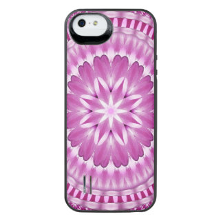 Flower Petals Mandala iPhone SE/5/5s Battery Case