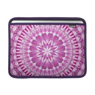 Flower Petals Mandala MacBook Sleeve