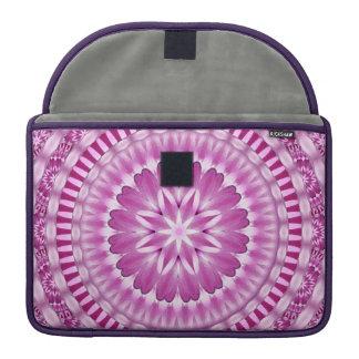 Flower Petals Mandala Sleeve For MacBooks