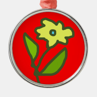 flower picture christmas tree ornaments