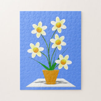 Flower picture jigsaw puzzle