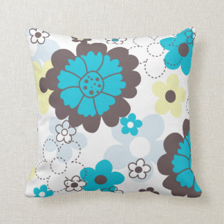 Flower pillow for spring time cushion