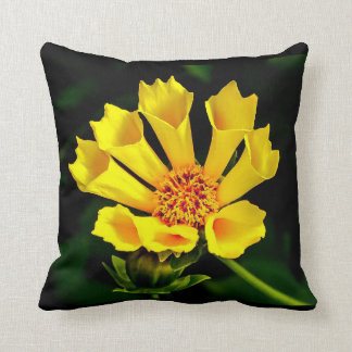 Flower pillow - Yellow tulip