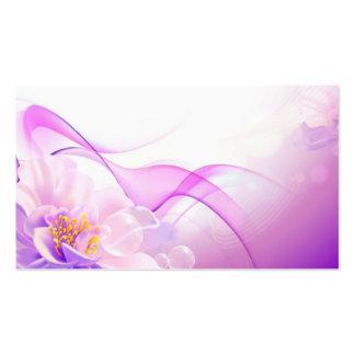 Flower-Pink-Background-Vector-Art DIGITAL REALISM Pack Of Standard Business Cards