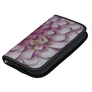 Flower Pink with Black Trim Folio Smartphone Folio Planner