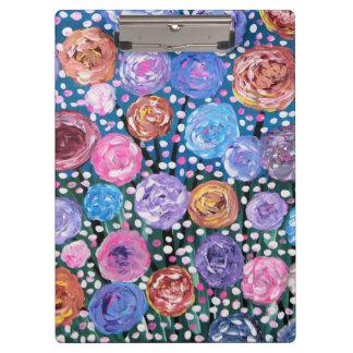 Flower Pop Clipboard