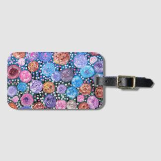 Flower Pop Luggage Tag