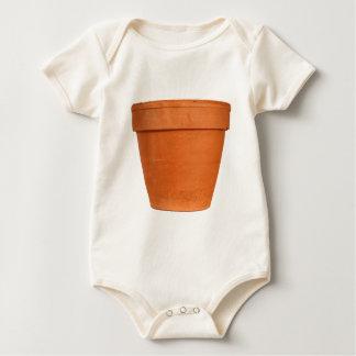 Flower Pot Baby Bodysuit