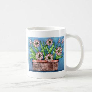 Flower Pot Color Coffee Mug