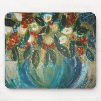 Flower Pot Mouse Pad by Becki Abrisz