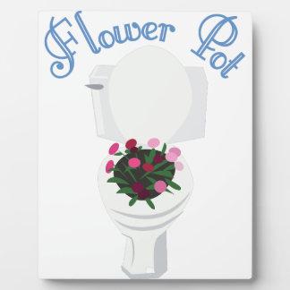 Flower Pot Plaque