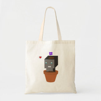 Flower pot Robot Tote