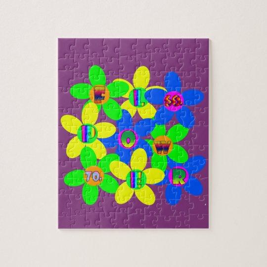 Flower Power 60s-70s 2 Jigsaw Puzzle