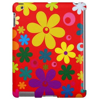 FLOWER POWER (a retro colorful floral design) ~~