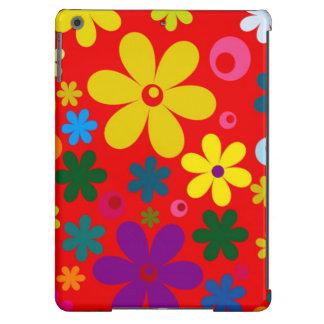 FLOWER POWER (a retro colorful floral design) ~~ iPad Air Case
