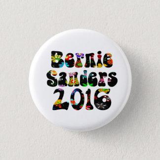 Flower Power Bernie Sanders 2016 3 Cm Round Badge