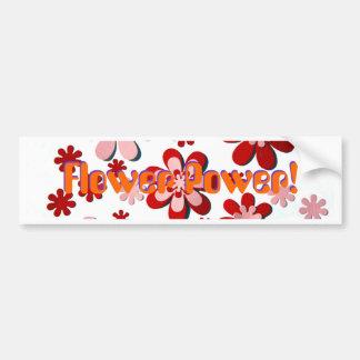 Flower Power! Bumper Sticker