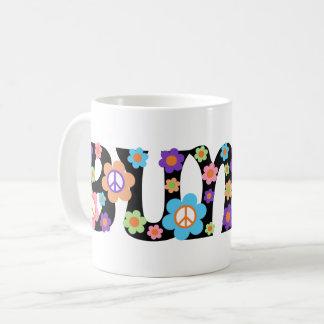 Flower Power Bunco Mug