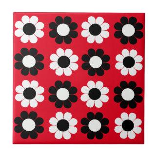 Flower Power Ceramic Tile