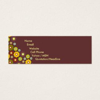 Flower Power Contact Card